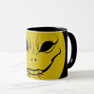 Evil Smiely Anticipation Face Mug V2