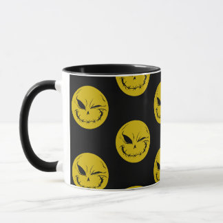 Evil Smiely Winking Face Mug V1