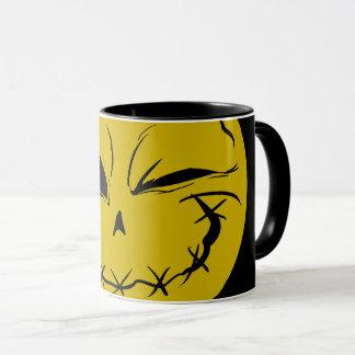 Evil Smiely Winking Face Mug V2