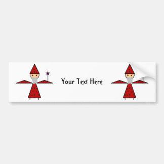 Evil Stick Wizard Bumper Sticker