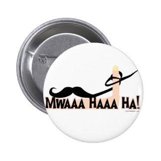Evil Twirling Moustache Buttons