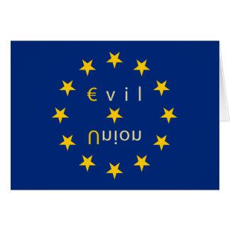 Evil Union Greetings Card S7