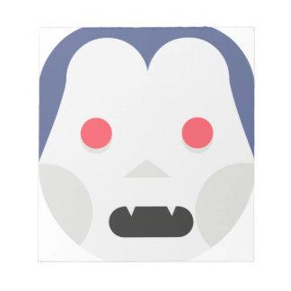 Evil Vampire Notepad