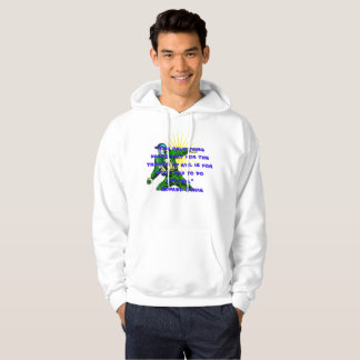 Evil vs Good Men Edmund Burke Quote Hoodie