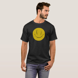 Evil What the Hell Smile Face T-shirt