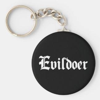Evildoer Key Chain
