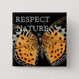 EVIROMENT PROTECTION 2 INCH SQUARE BUTTON