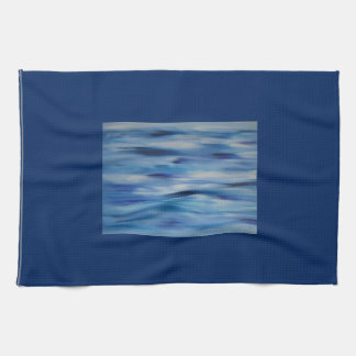 Evitavic paintings collection Blue Sky Hand Towels