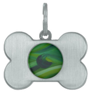 Evitavic paintings collection Nature Pet ID Tag