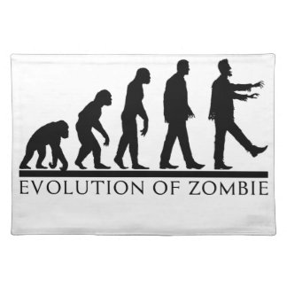 EVO OF ZOMBIE PLACEMAT