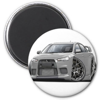 Evo Silver Car Magnet