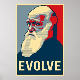 Évoluez Posters