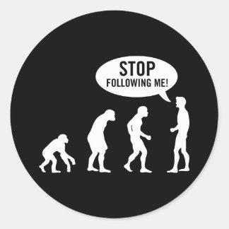 evolution2 autocollants ronds