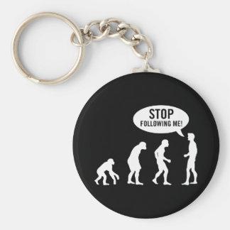 evolution2 basic round button keychain