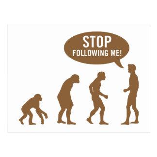 evolution4 carte postale