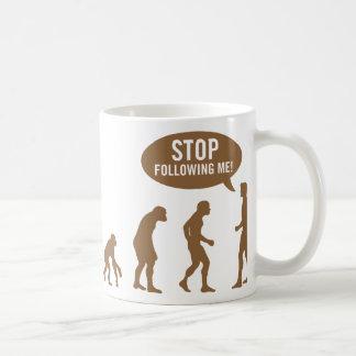 evolution4 mug blanc