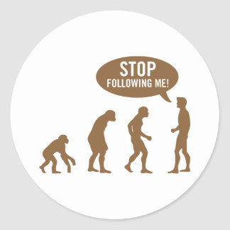 evolution4 sticker rond
