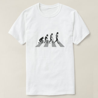 Evolution - Abbey Road Parody T-Shirt