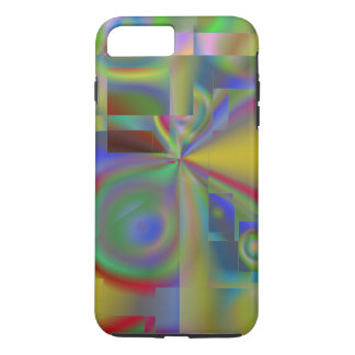 Evolution Abstract 22 by LH iPhone 7 Plus Case
