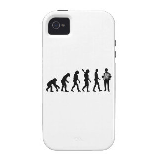 Evolution Accordion player Vibe iPhone 4 Cover
