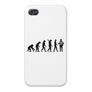 Evolution Accordion player Cases For iPhone 4