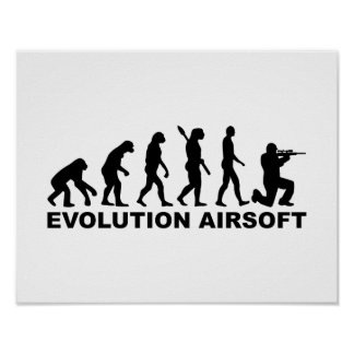 Evolution Airsoft Poster
