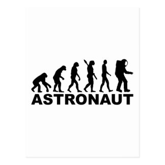 Evolution Astronaut Postcard