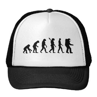 Evolution Astronaut Trucker Hat