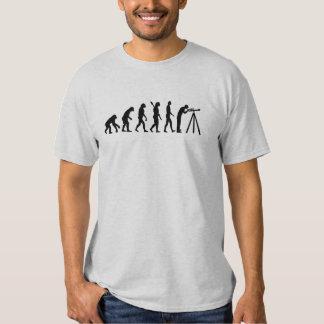Evolution Astronomy telescope Tshirts