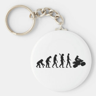 Evolution ATV Quad Racing Keychain