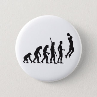 evolution basketball 2 inch round button