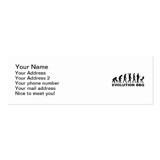 Evolution BBQ Barbecue Business Cards