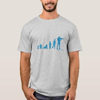 evolution biathlon shooting upright T-Shirt