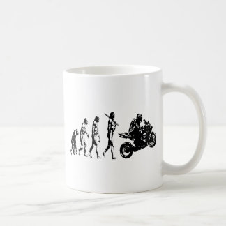 evolution bike coffee mug