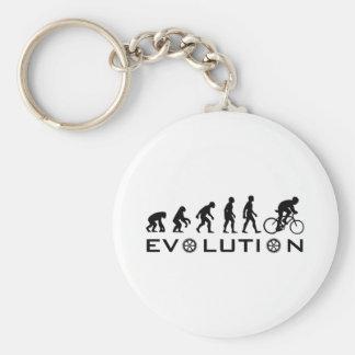 Evolution Bike Keychain
