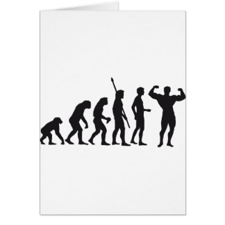evolution bodybuilding card