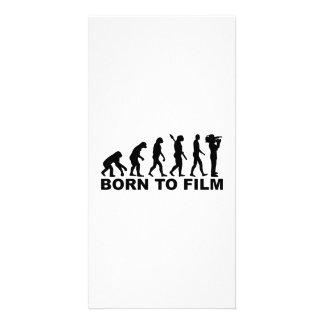 Evolution Born to film Picture Card