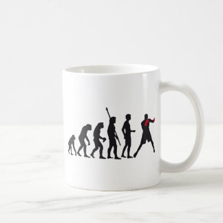 evolution boxing classic white coffee mug