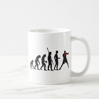 evolution boxing coffee mug