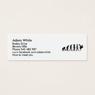Evolution Breakdance Mini Business Card