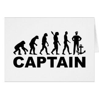 Evolution captain card