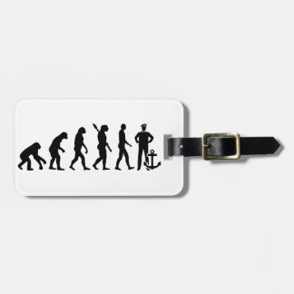 Evolution captain luggage tag