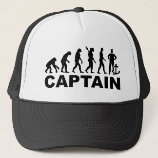 Evolution captain trucker hat