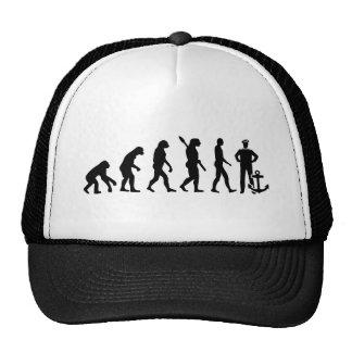 Evolution captain trucker hat
