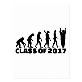 Evolution Class of 2017 Postcard