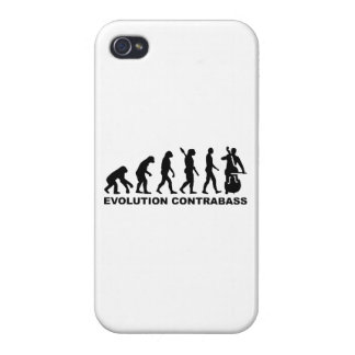 Evolution Contrabass iPhone 4 Covers