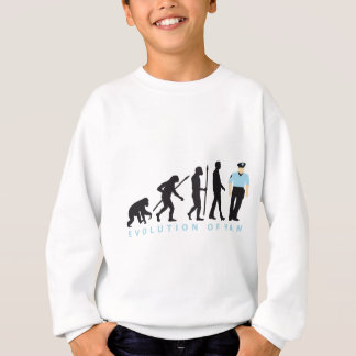 evolution copilot, sheriff, marshal, policeman sweatshirt
