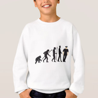 evolution copilot, sheriff, marshal, policeman sweatshirt