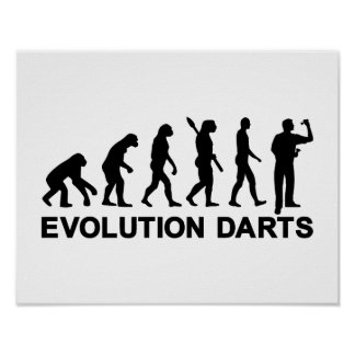 Evolution Darts Poster