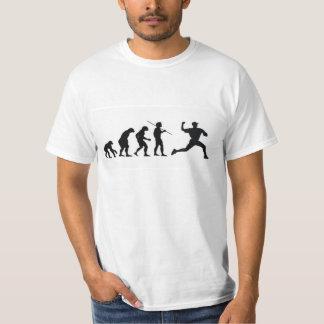Évolution de base-ball t shirts
